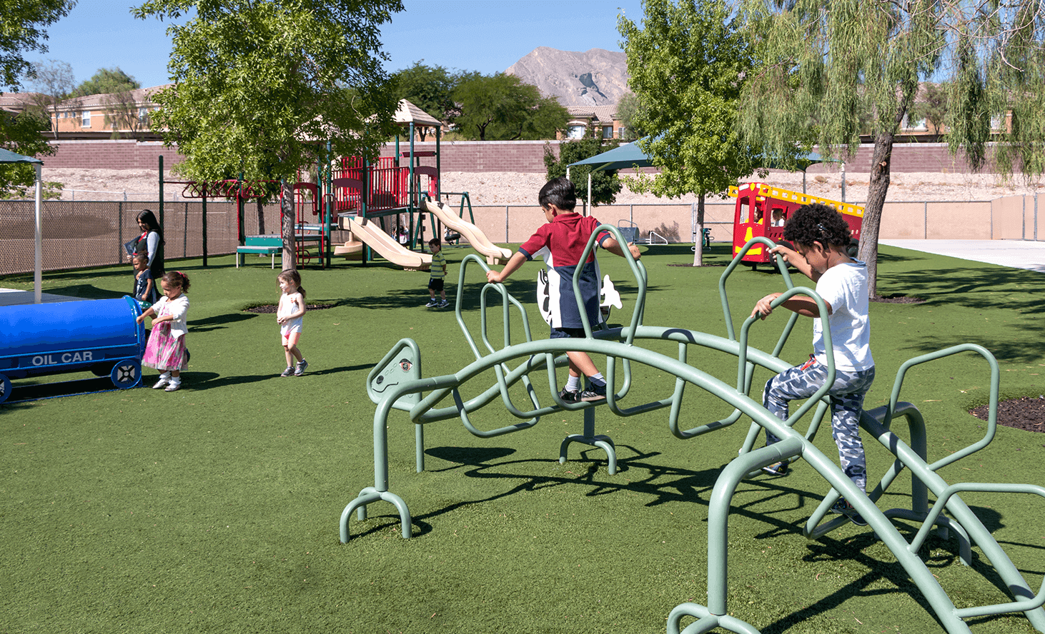 Preschool Playground | Challenger School - Summerlin | Private School In Las Vegas, Nevada
