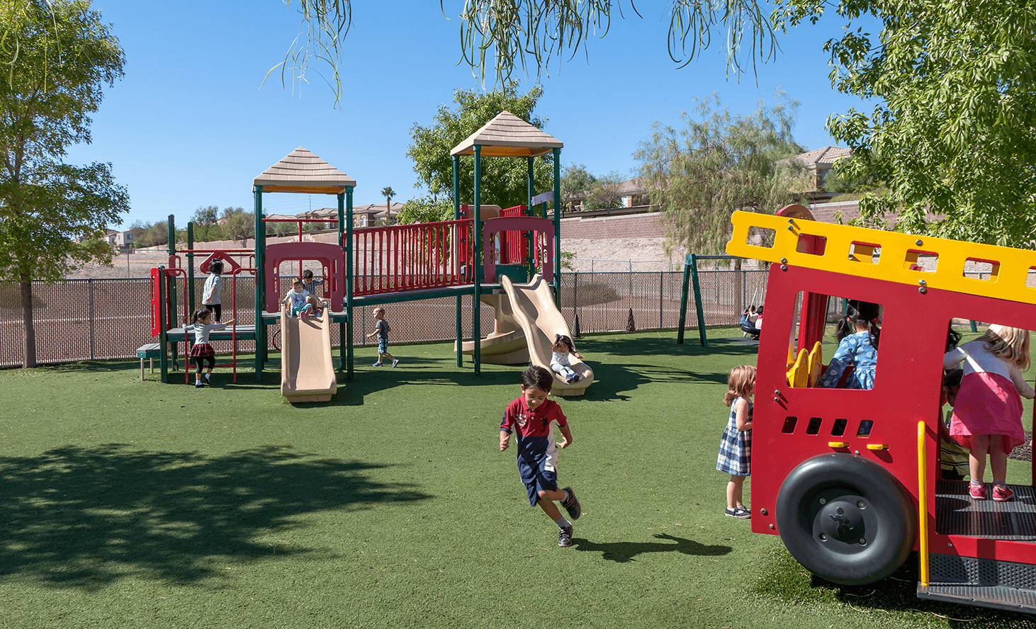 Playground Structure | Challenger School - Summerlin | Private School In Las Vegas, Nevada