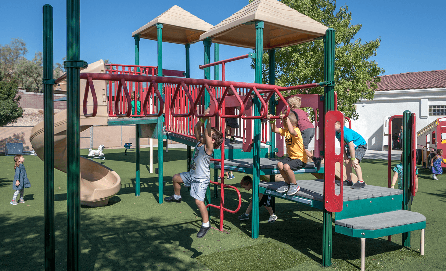 Playground | Challenger School - Summerlin | Private School In Las Vegas, Nevada