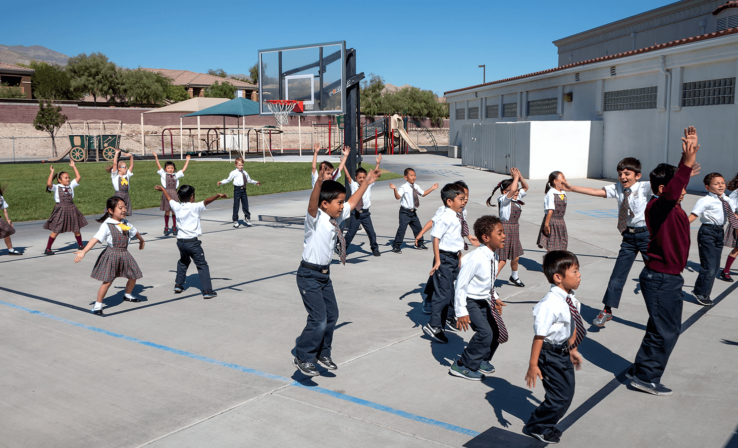 Physical Education | Challenger School - Summerlin | Private School In Las Vegas, Nevada