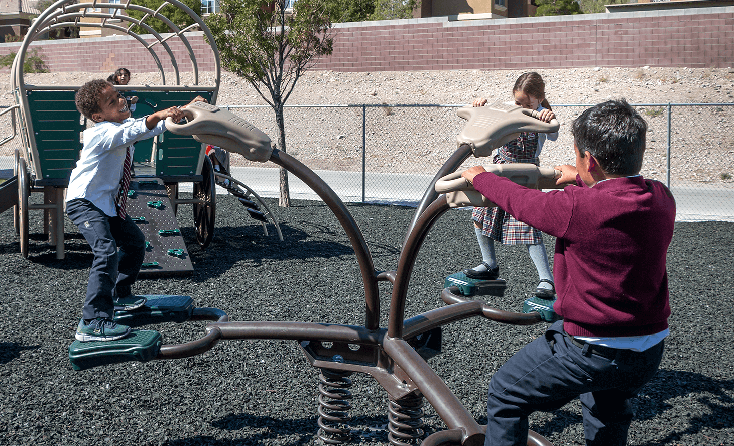 Playground Seesaw | Challenger School - Summerlin | Private School In Las Vegas, Nevada