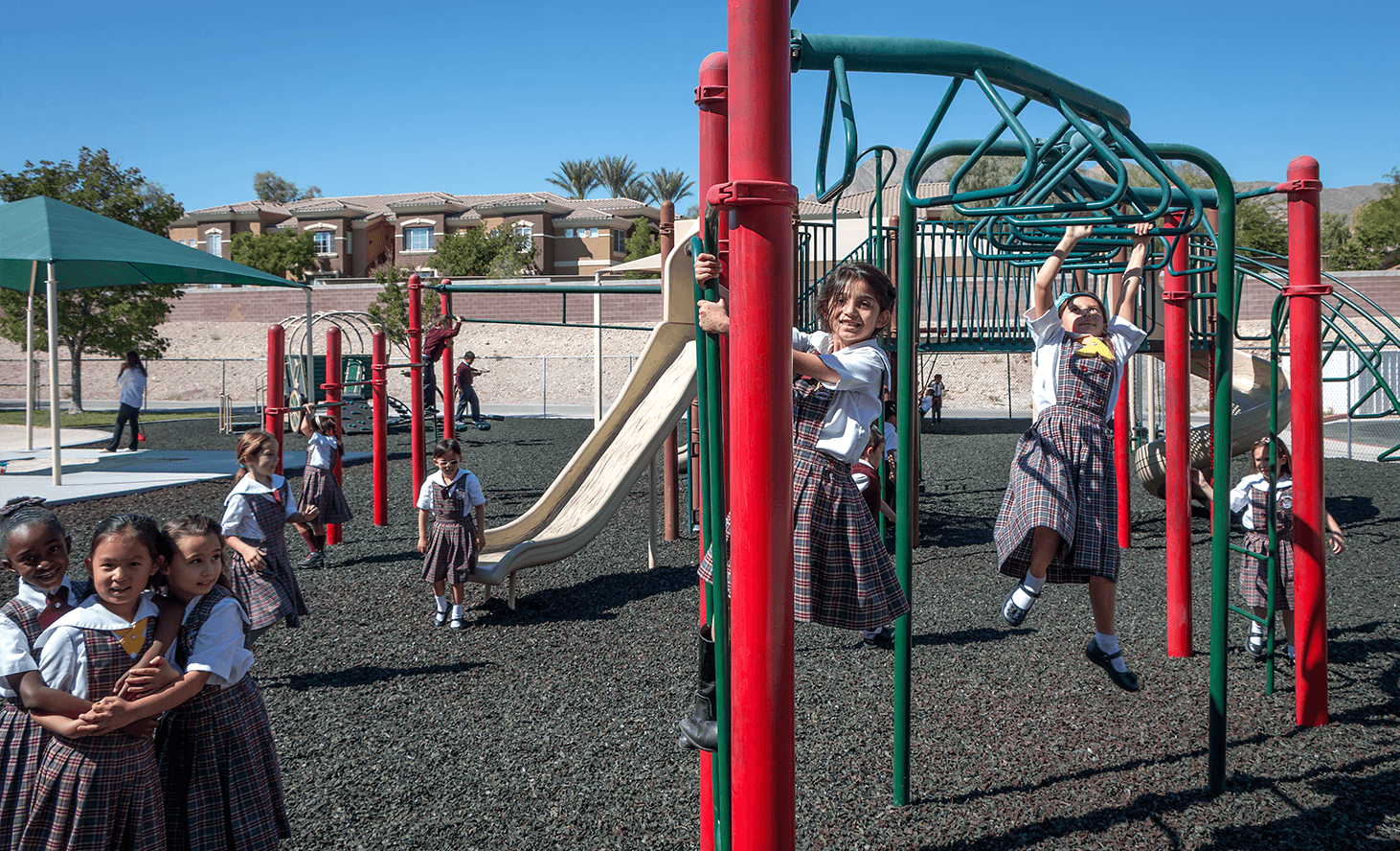 Playground Monkey Bars | Challenger School - Summerlin | Private School In Las Vegas, Nevada