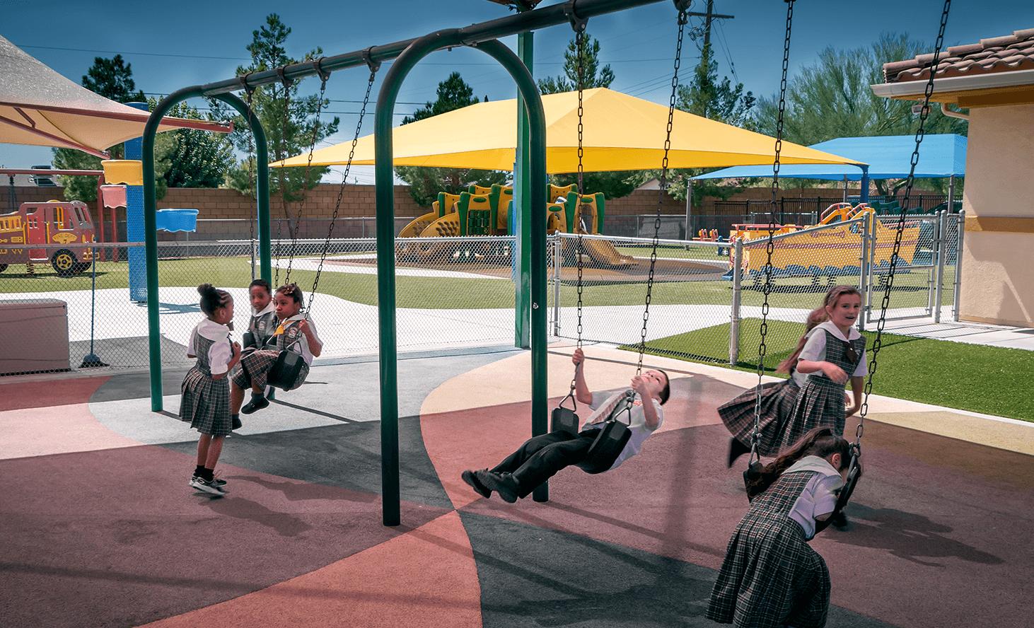 Playground | Challenger School - Los Prados | Private School In Las Vegas, Nevada
