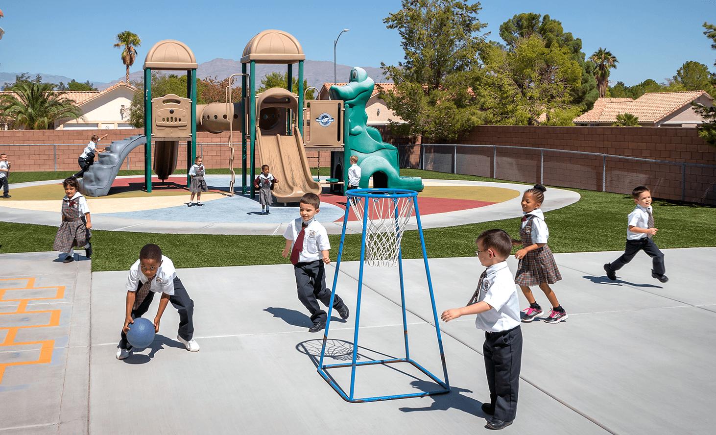 Playground Structure | Challenger School - Los Prados | Private School In Las Vegas, Nevada