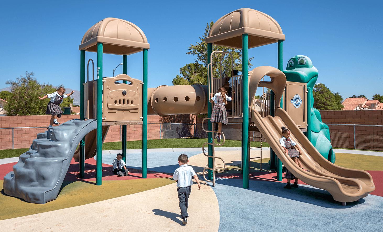 Playground Fun | Challenger School - Los Prados | Private School In Las Vegas, Nevada