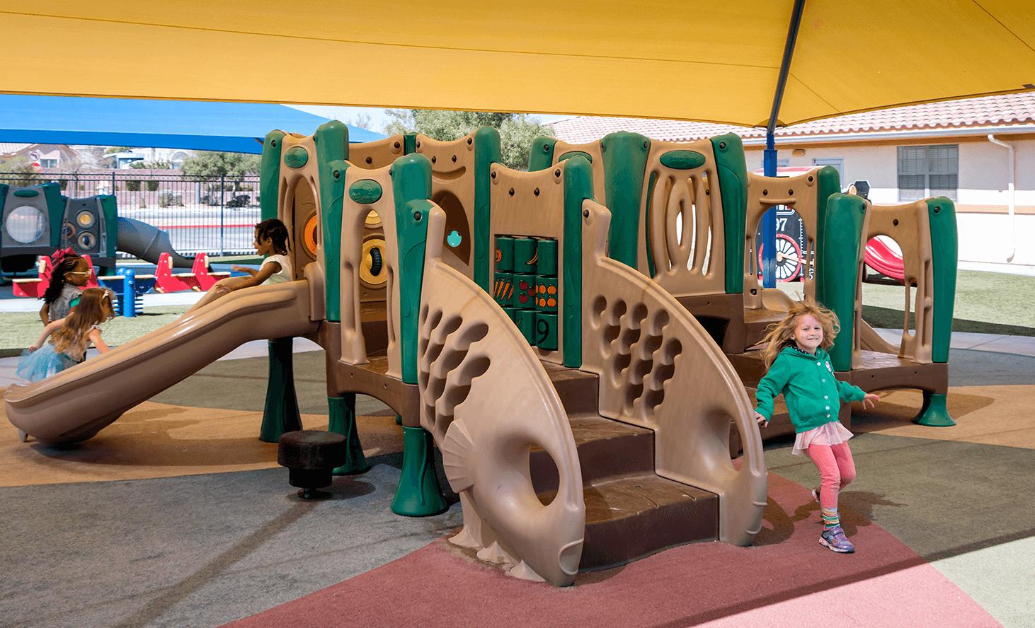 Playground Slide | Challenger School - Los Prados | Private School In Las Vegas, Nevada