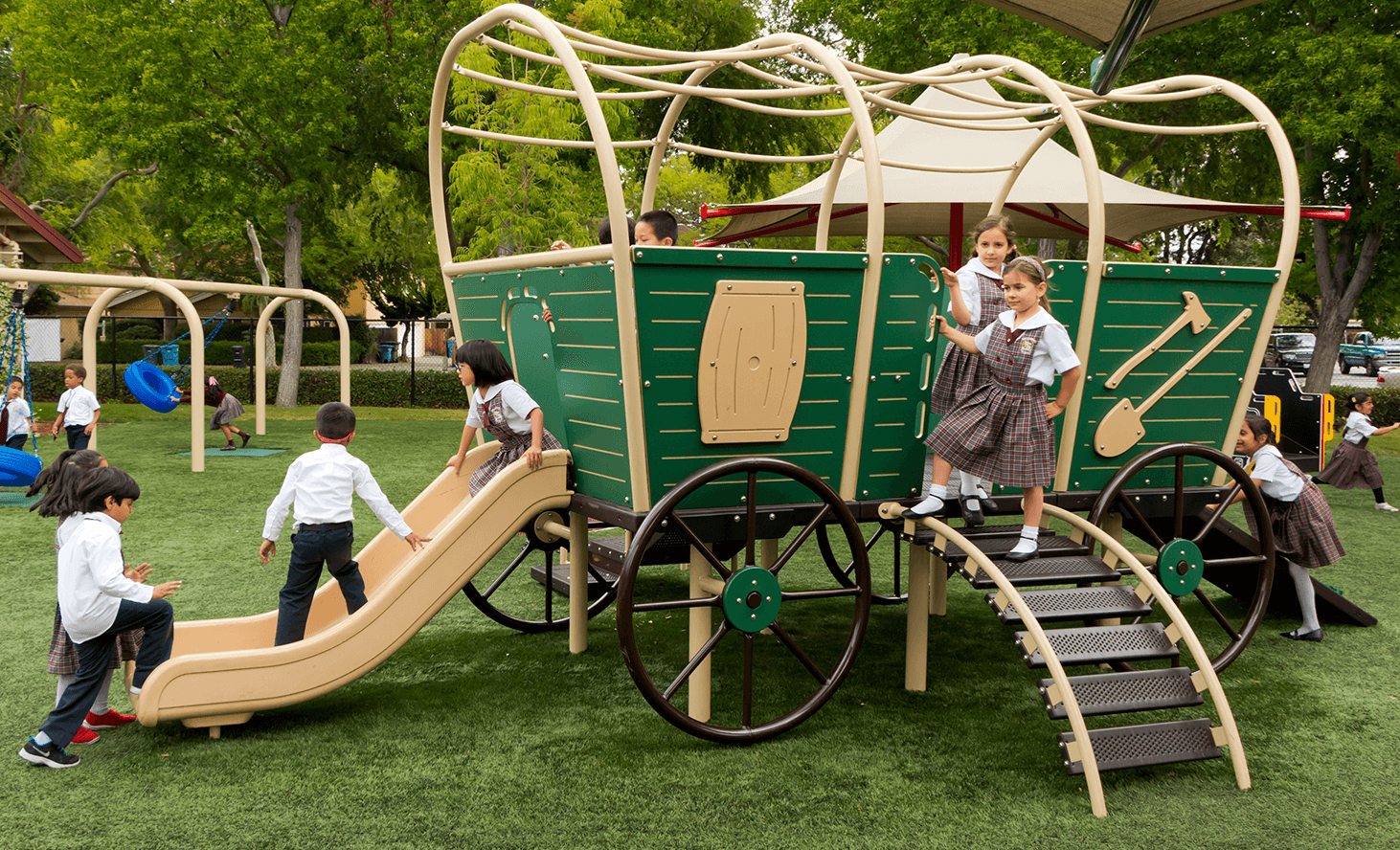 Playground | Challenger School - Middlefield | Private School In Palo Alto, California