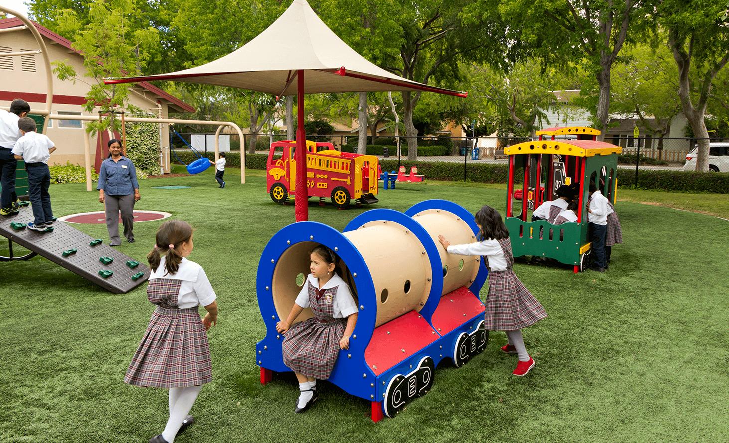 Preschool Playground | Challenger School - Middlefield | Private School In Palo Alto, California
