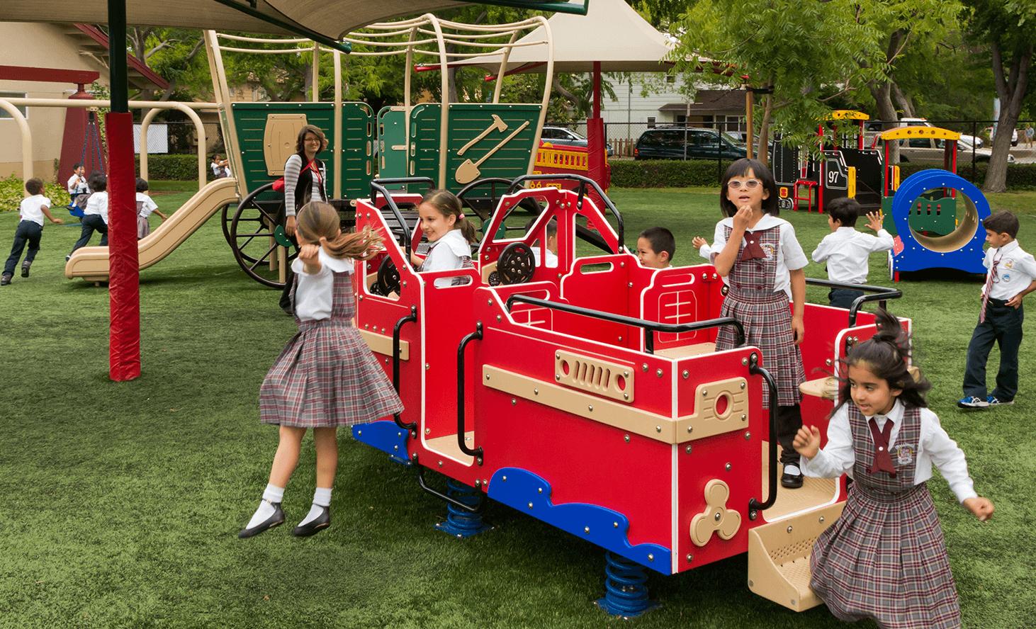 Playground Fun | Challenger School - Middlefield | Private School In Palo Alto, California