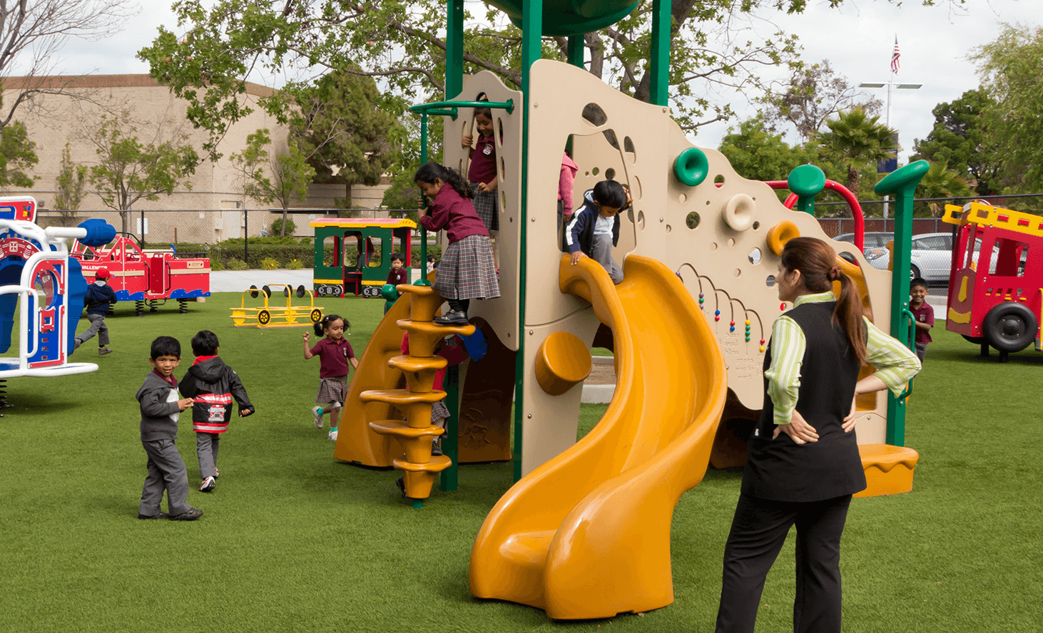 Playground Fun | Challenger School - Newark | Private School In Newark, California