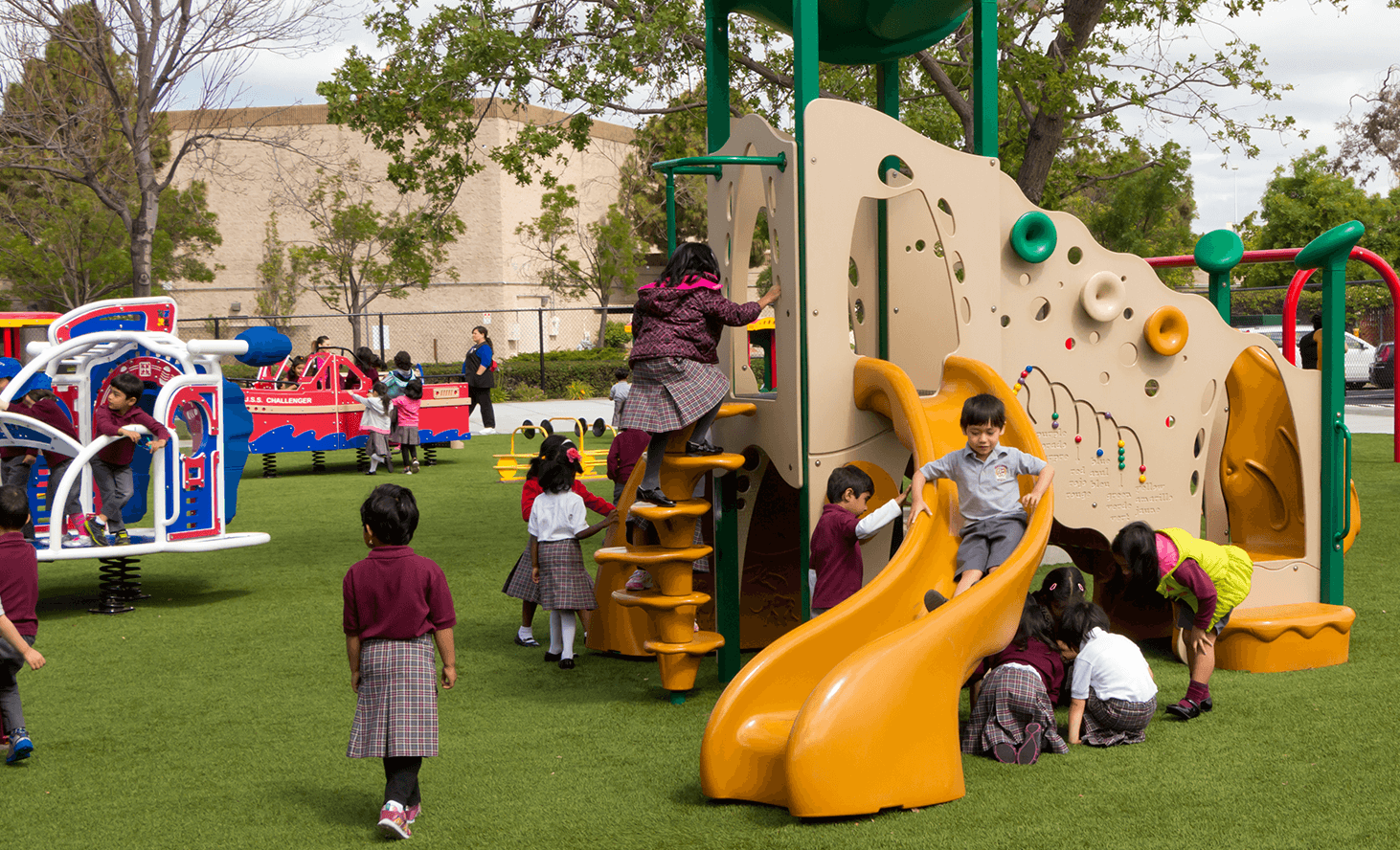 Playground | Challenger School - Newark | Private School In Newark, California