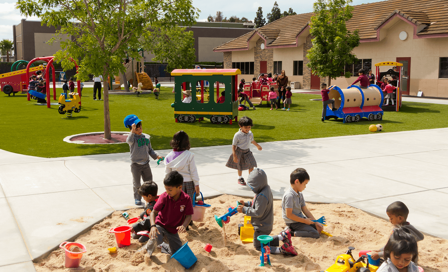 Sandbox | Challenger School - Newark | Private School In Newark, California