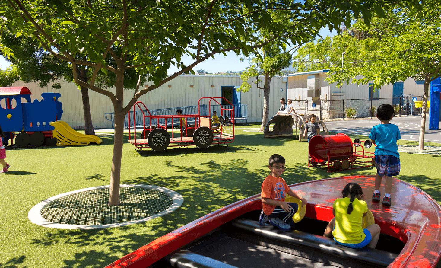 Preschool Playground | Challenger School - Shawnee | Private School In San Jose, California