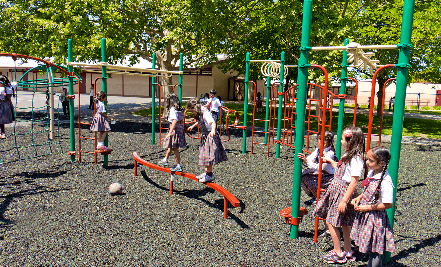 Balance Beam | Challenger School - Strawberry Park | Private School In San Jose, California