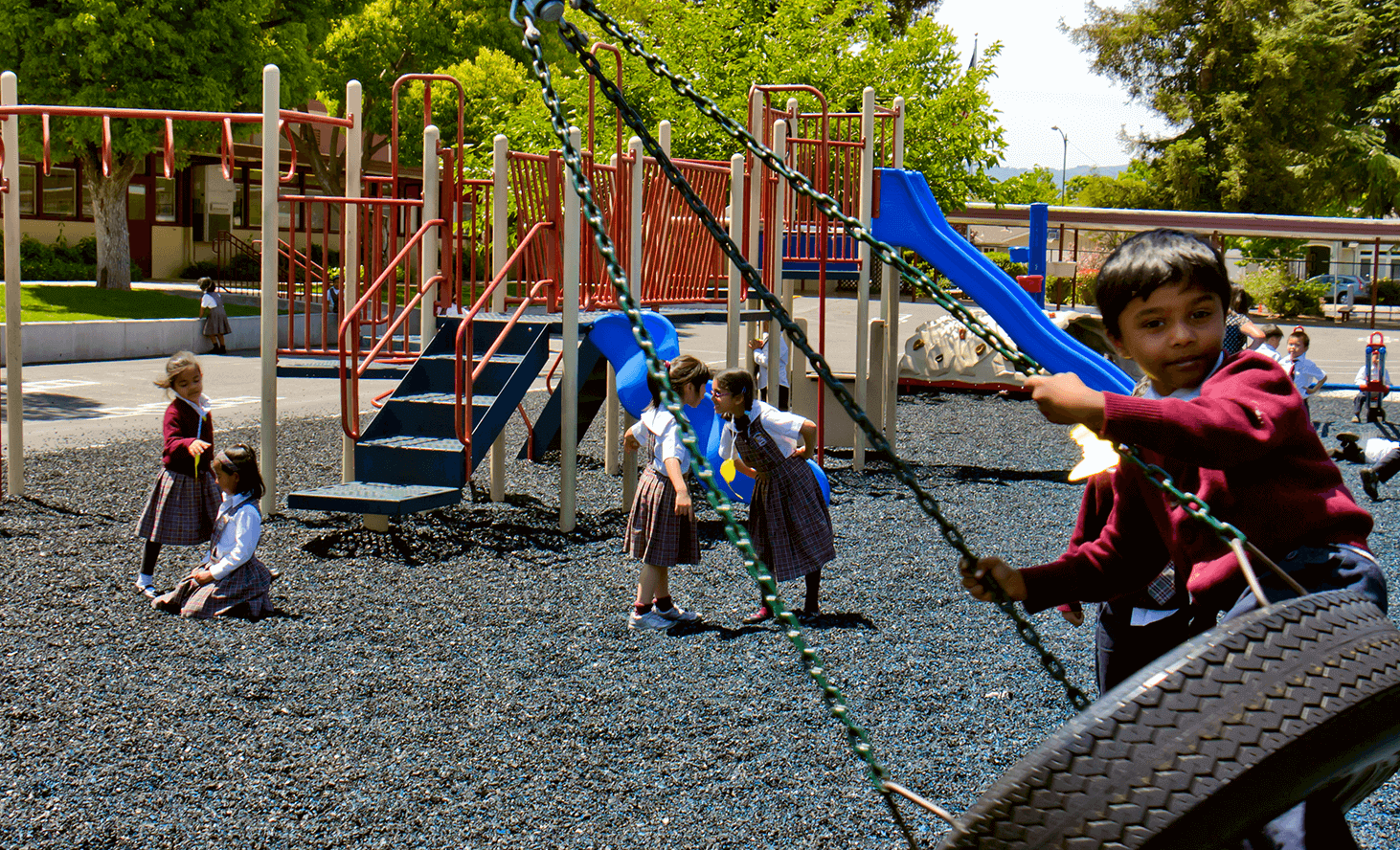 Playground Fun | Challenger School - Strawberry Park | Private School In San Jose, California