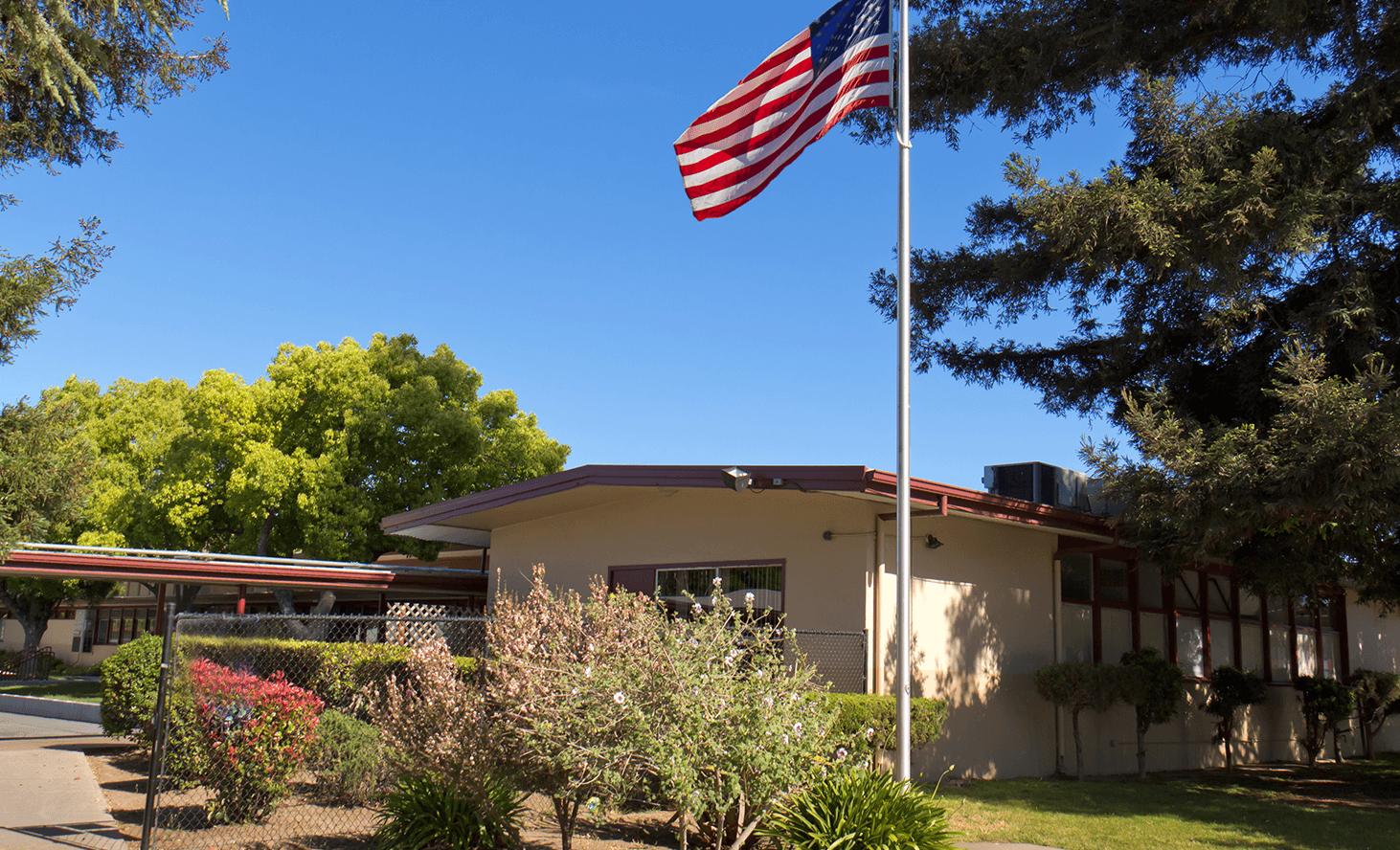 Campus Exterior | Challenger School - Strawberry Park | Private School In San Jose, California