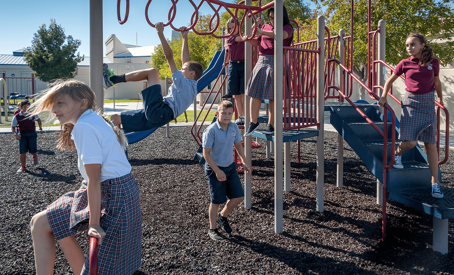 Playground Fun | Challenger School - Silverado | Private School In Las Vegas, Nevada