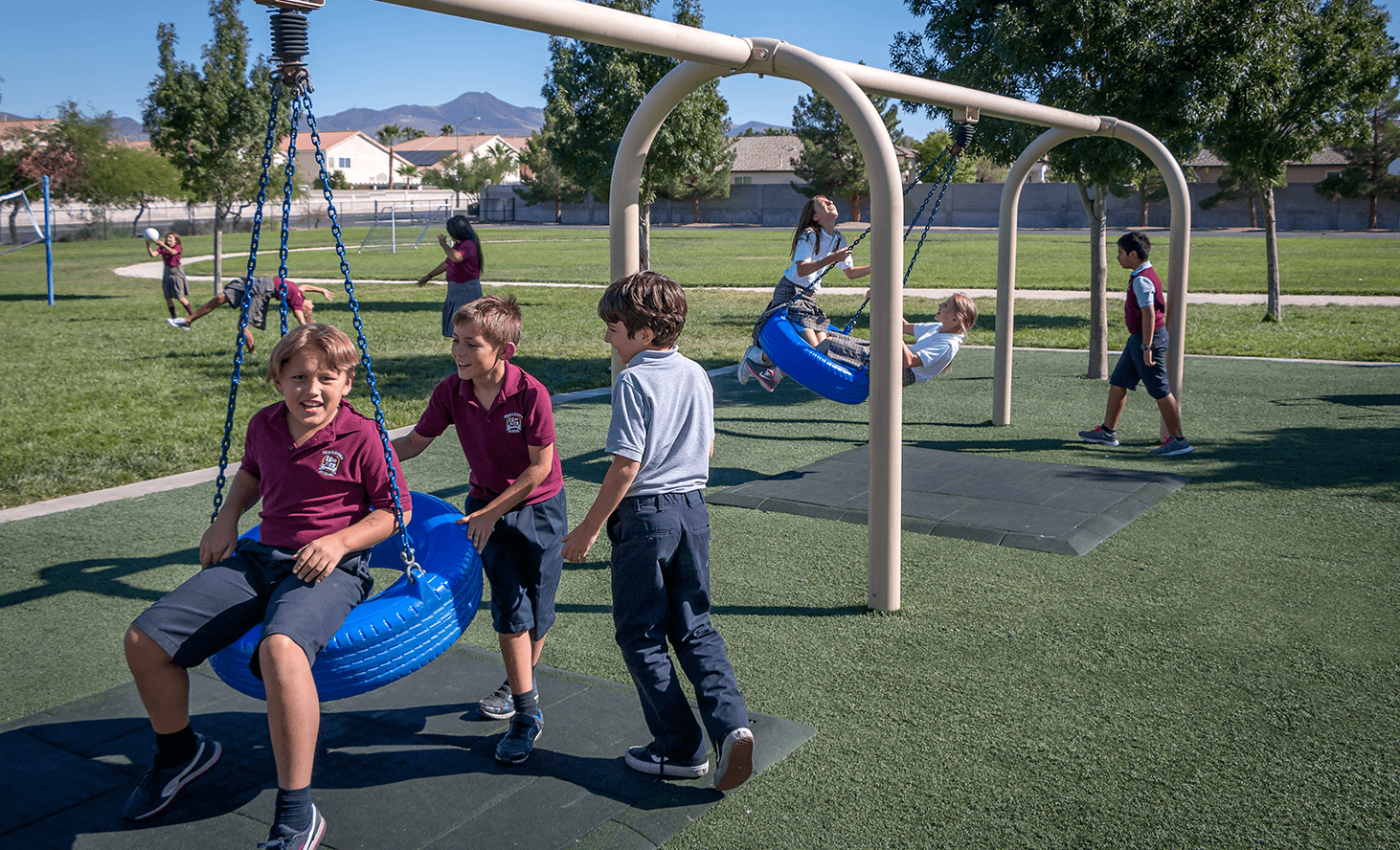 Swing | Challenger School - Silverado | Private School In Las Vegas, Nevada
