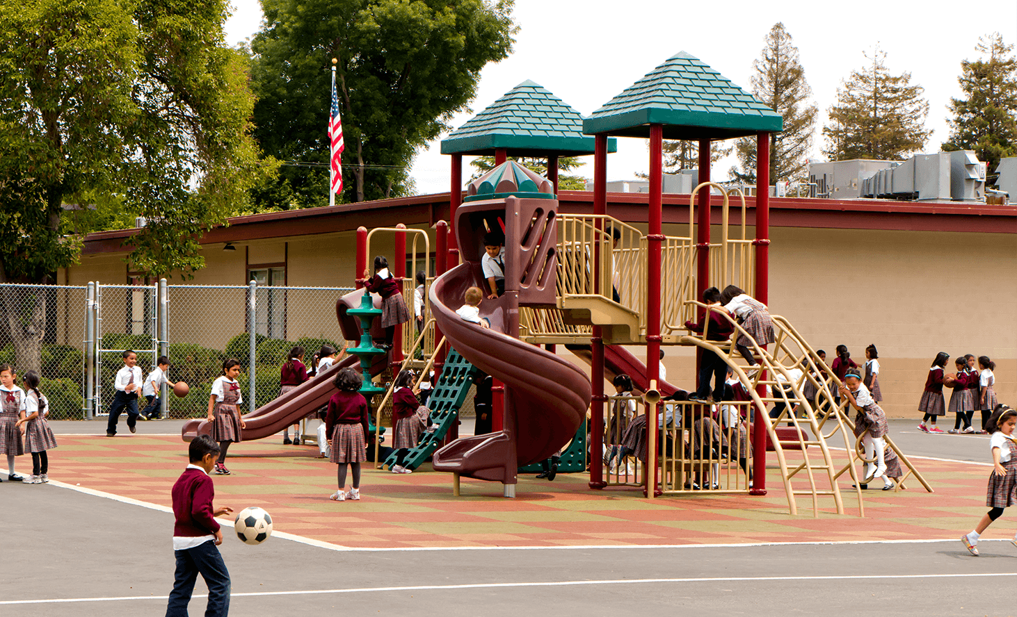 Playground Fun | Challenger School - Sunnyvale | Private School In Sunnyvale, California