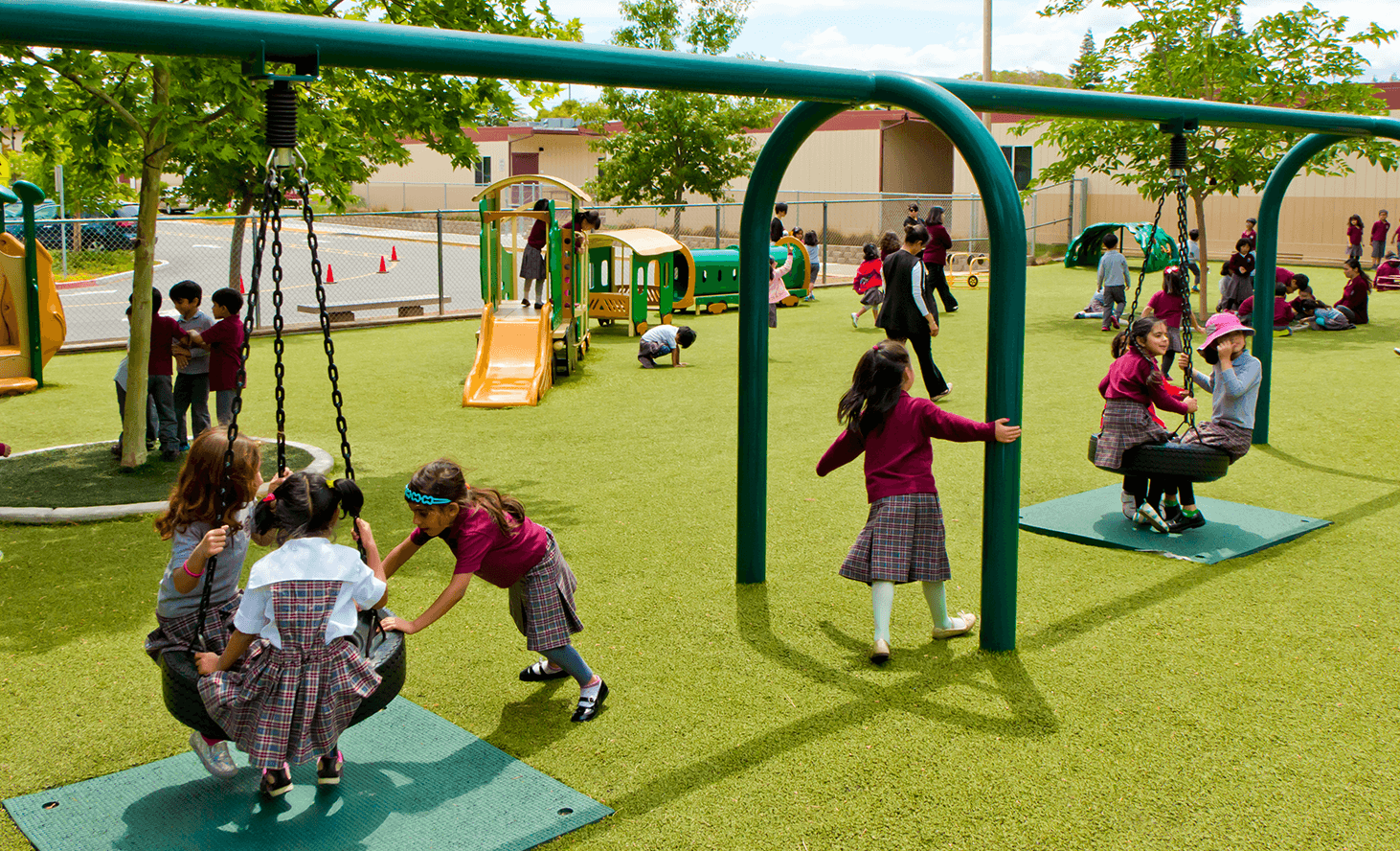 Playground | Challenger School - Sunnyvale | Private School In Sunnyvale, California