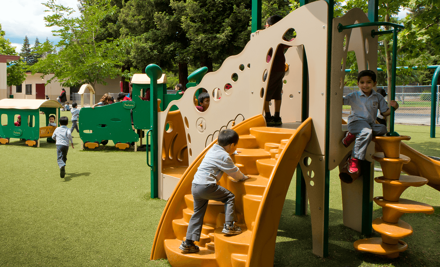 Preschool Playground | Challenger School - Sunnyvale | Private School In Sunnyvale, California