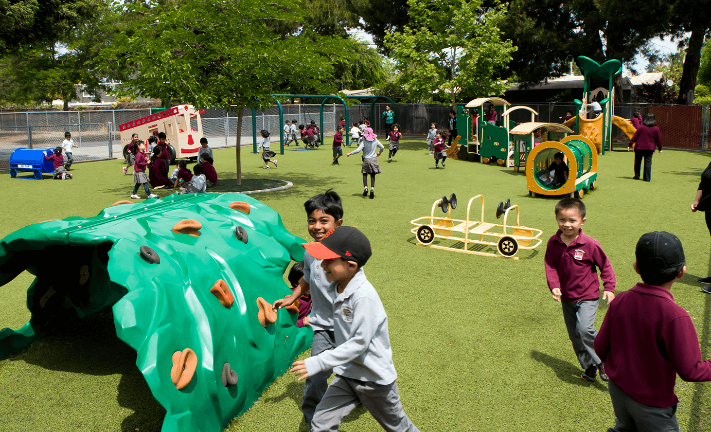 Elementary School Playground | Challenger School - Sunnyvale | Private School In Sunnyvale, California