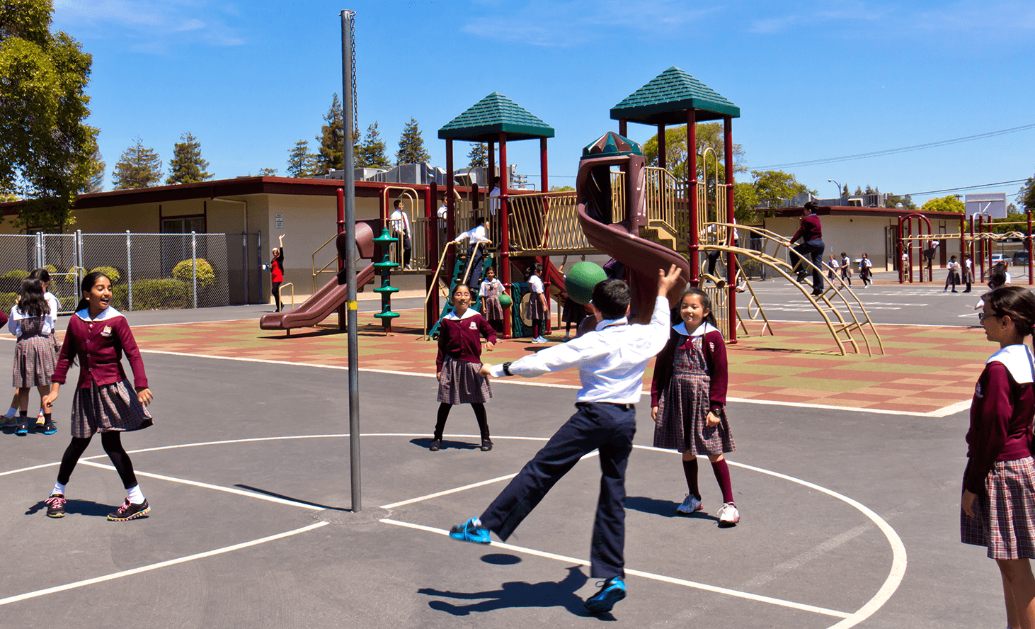 Elementary School Playground Fun | Challenger School - Sunnyvale | Private School In Sunnyvale, California