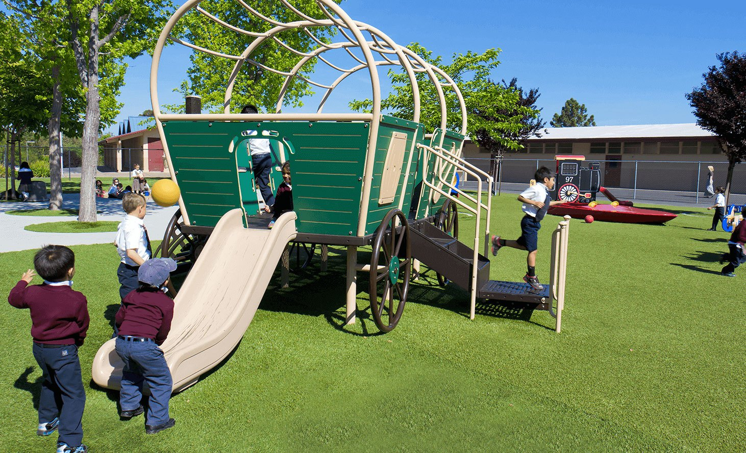 Playground Fun | Challenger School - Almaden | Private School In San Jose, California